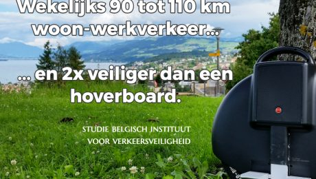 monowheel veiligheid hoverboard studie van bivv